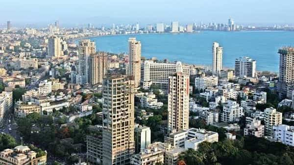 A file photo of the Mumbai skyline. Mumbai's success in handling the second wave has earned wholesome praise from various quarters, including the apex judiciary.